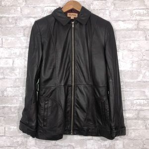 Wilson's Leather Brown Jacket Size Small